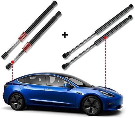 Bobotron Lot de 2 v/érins de levage pour capot avant et coffre arri/ère pour Tesla Model 3 2017-2020