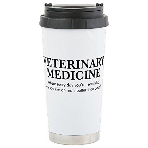 Medici Mug (CafePress - Veterinary Medici - Stainless Steel Travel Mug, Insulated 16 oz. Coffee Tumbler)
