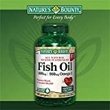 Nature's Bounty Fish Oil 1400 mg 130 Softgels (Pack of 4)