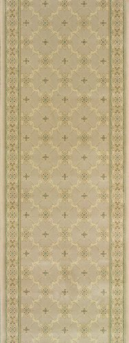 Rivington Rug Morgan Runner, Maple, 2-Foot-7-Inch by 8-Foot