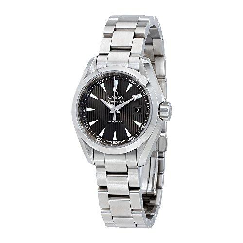 Aqua Terra Stainless Steel Watch - Omega Seamaster Aqua Terra Teak Grey Dial Stainless Steel Watch 23110306006001