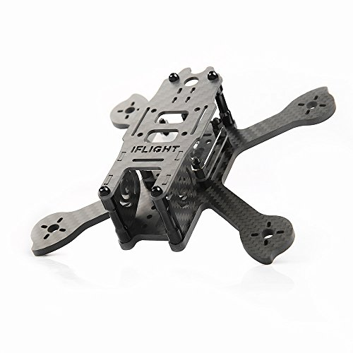 iFlight RACER iX3 V2 140mm RC FPV Racing Quadcopter Frame 4mm Carbon Fiber Non-assembled