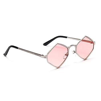 LLLM Gafas de sol Gafas hexagonales Gafas de Sol Gafas de ...