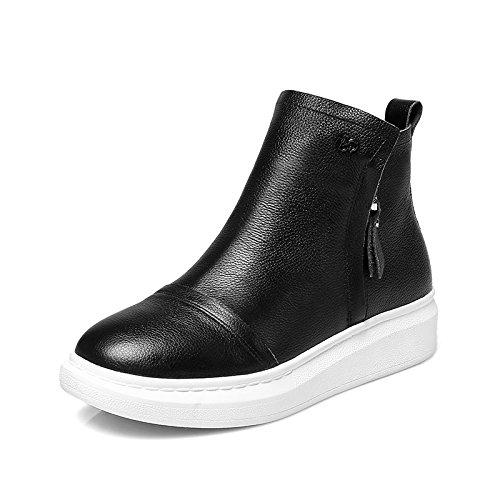 Planas Blanco Británico Invierno Mujer Mujer Botas Martin Con Estudiantes Botas Nuevos Todos Coinciden Botas Zapatos black De Femeninos KHSKX Estilo IS41xaa