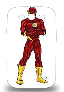 Snap On 3D PC Case Designed For Galaxy S3 American The Flash Justice League ( Custom Picture iPhone 6, iPhone 6 PLUS, iPhone 5, iPhone 5S, iPhone 5C, iPhone 4, iPhone 4S,Galaxy S6,Galaxy S5,Galaxy S4,Galaxy S3,Note 3,iPad Mini-Mini 2,iPad Air )