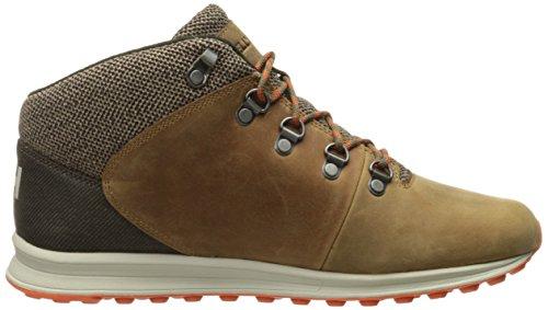 Helly Hansen Heren Jaythen X Lederen Sneaker Schoen Been Bruin / Hout Rook / Walnoot / Magma / Natuurlijk