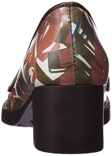 Bristol Sko Fantasy Hæl Tip Farver Lukkede safari Til Kunst Kvinder 0079f Forskellige aEdqXxwa