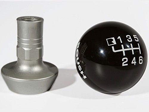 2010-2014 Ford Mustang ROUSH Black Six Speed Shift Knob with Boot Retainer
