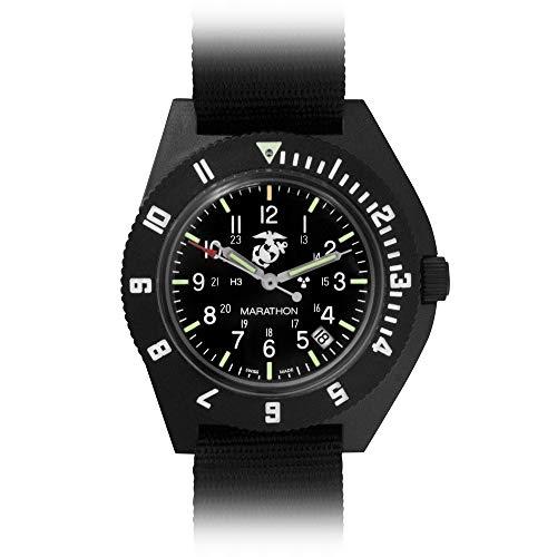 Marathon Watch WW194013 Navigator Swiss Made Military Issue Pilot's Watch. ETA F06 Movement, Date...