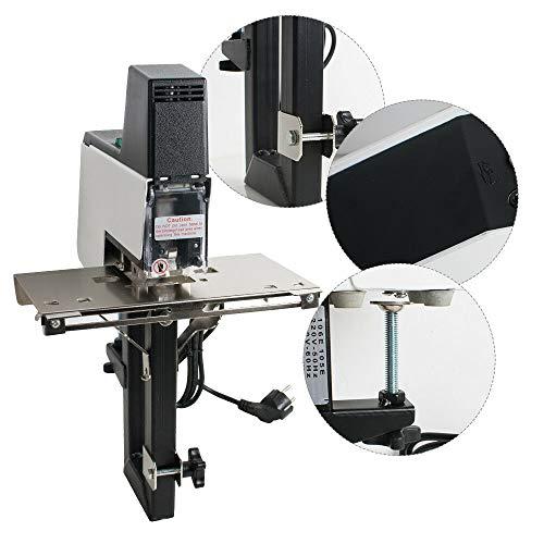 Electric Stapler, Electric Auto Rapid Stapler Flat + Saddle Binder Machine Book Binding Machine(3-5 days delivery) ()