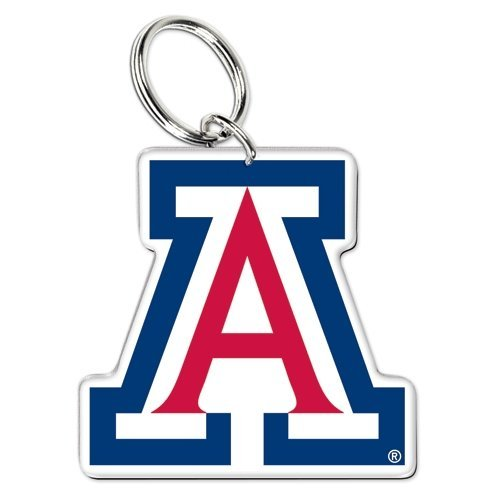 WinCraft NCAA 20415041 University of Arizona Premium Acrylic Key Ring Arizona Wildcats Wildcat Ring