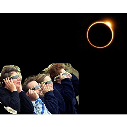 Price comparison product image EKIMI 2017 New Solar Eclipse Glasses Galaxy Edition CE and ISO Standard Viewing Aug. 21 (1 Pack)
