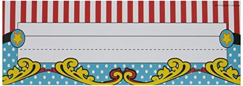 Teacher Created Resources Carnival Flat Name Plates (5715)