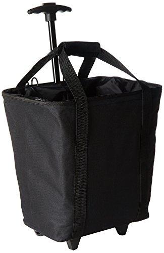 Fischer Uni Gepäckträgertasche Tasche, Schwarz, 12 x 33 x 29 cm, 25 Liter