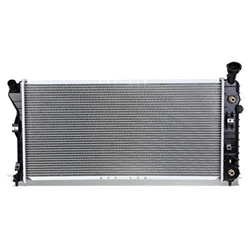 DNA Motoring OEM-RA-2343 2343 Aluminum Radiator [For 00-05 Buick Century/Chevy Impala AT]