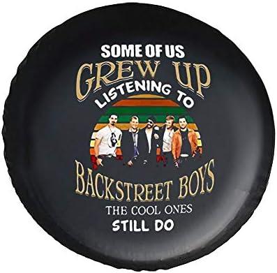 Some Of Us Grew Up Listening To Backstreet タイヤカバー タイヤ保管カバー 収納 防水 雨よけカバー 普通車・ミニバン用 防塵 保管 保存 日焼け止め 径83cm