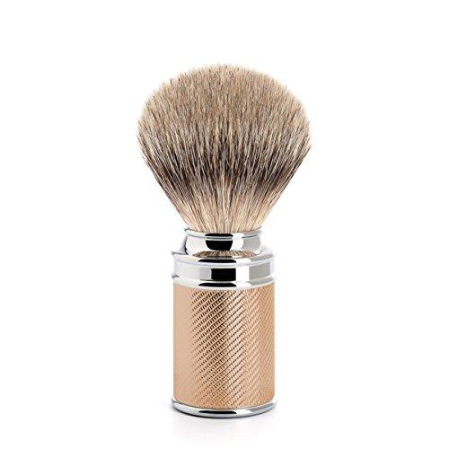 MUHLE Traditional Silvertip Badger Shaving Brush (091 M 89) (Rose Gold)