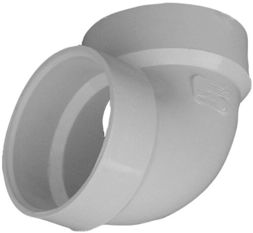 Genova Products 70730 90° Vent Elbow Pipe Fitting, 3'