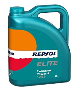 repsol elite evolution power 4 5w30 engine oil 5 l amazon. Black Bedroom Furniture Sets. Home Design Ideas