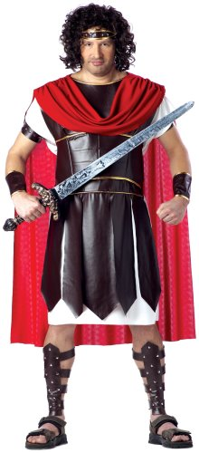 California Costumes Men's Plus Size-Hercules, Brown/Red, PLUS (48-52) (Mens Warrior Costumes)