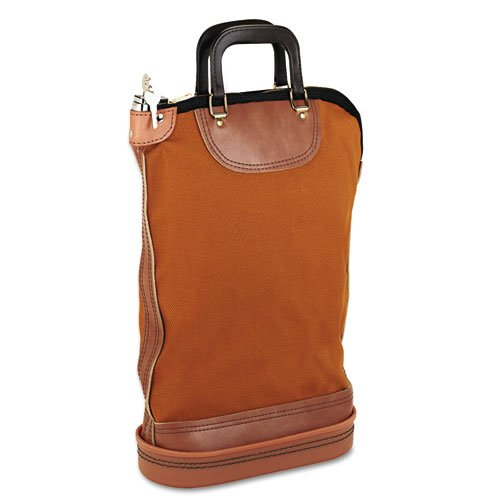 Regulation Post Office Security Mail Bag, Zipper Lock, 14w x 18h, Sold as 1 Each ()