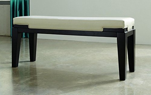 Ashley Furniture Signature Design - Trishelle Double Dining Room Bench - Plush Upholstery - Traditional - White
