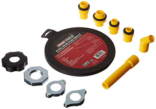 OEMTOOLS 87009 No-Spill Coolant Filling Plastic Funnel Kit