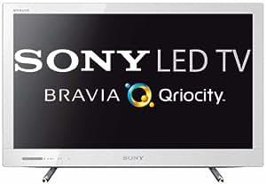 Sony KDL24EX320 - Televisión Full HD, pantalla LED, 24 pulgadas, blanco