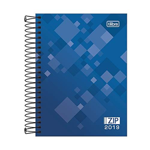 Tilibra 133124 Agenda 2019, 12 Meses, Planeador Diario, Colección Zip, 11.5 x 16.5 cm