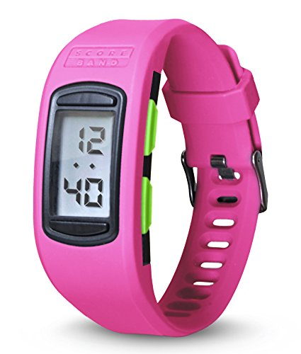 ScoreBand Play Four Mode Scorekeeping Watch, Pink