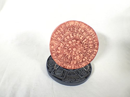 - Phaistos Disc, Minoan Mystery Replica with Jungle Plaque Ancient Mystery