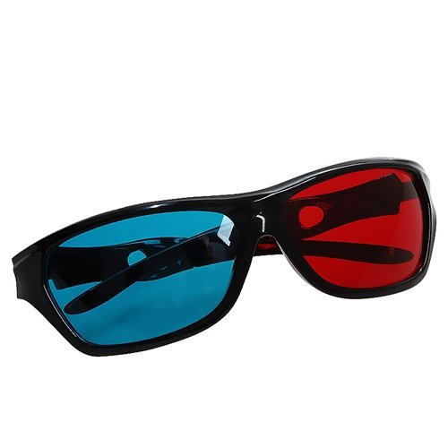 4c9d3ab1a4 Red-blue   Cyan Anaglyph Simple style 3D Glasses 3D movie game-Extra  Upgrade Style