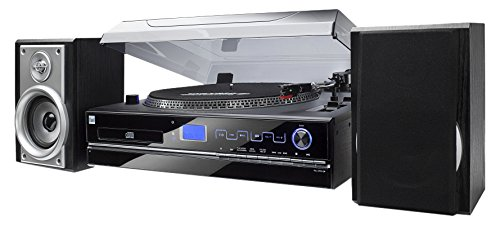 Stereo systeem – draaitafel – 33/45 rpm – compact systeem – radio – CD speler – MP3 – cassette – USB – SD…