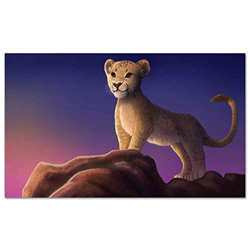 cowspring Movie Posters Beyonce as nala The Lion King 2019 4k Pop Art Wall Decor for Home Office Decorations Framed 24x 16 inches