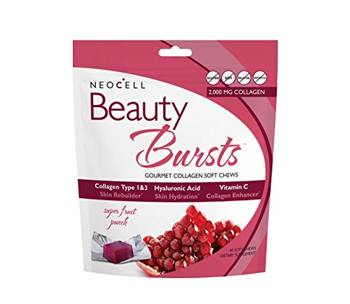 NeoCell Laboratories Beauty Burst, Fruit Punch, 60 Count