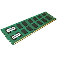Crucial 4GB kit (2GBx2) DDR3-1066 MT/s (PC3-8500) CL7 Unbuffered ECC 240pin UDIMM - CT2KIT25672BA1067 / CT2CP25672BA1067