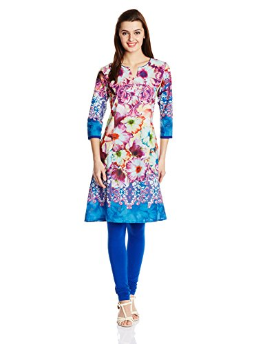 Rain and Rainbow Women A Line Kurta