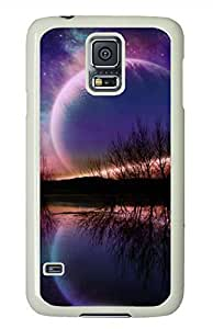 Over The Horizon White Hard Case Cover Skin For Samsung Galaxy S5 I9600