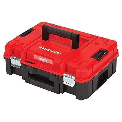 CRAFTSMAN VERSASTACK System 17-in Red Plastic Tool Box