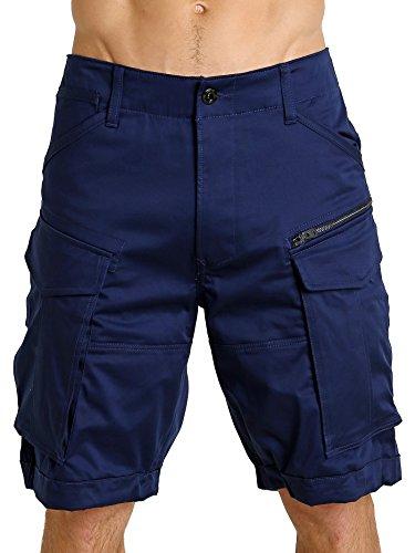 blu G sfusi cargo Men star Raw Pantaloncini Rovic 0wq0rvU