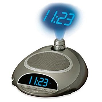 HoMedics SoundSpa Time Projecting Natural Sounds Clock Radio - - Radio Clock Projection Homedics