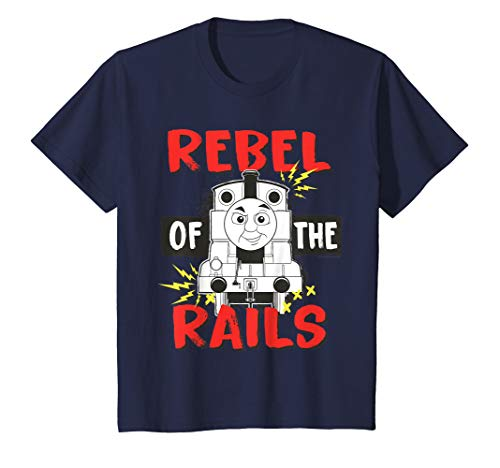 Kids Thomas and Friends Rebel Rails T-shirt (Thomas And Friends Tales On The Rails)