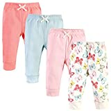 Touched by Nature Unisex Baby Organic Cotton Pants, Butterflies, 4 Toddler
