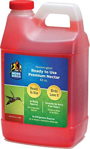 More Birds Premium Hummingbird Nectar, 64-Ounces
