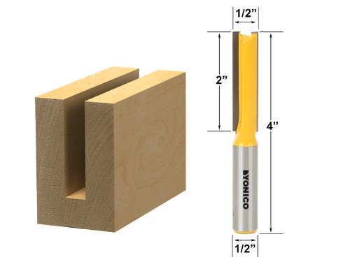Cut 1/2 Inch Shank Router - 3