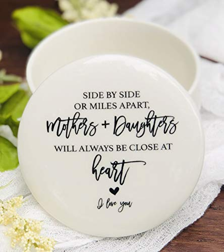 Side By Side Or Miles Apart, Mothers Are Always Close At HeartGift Idea for Daughter from Mom or Mother 3