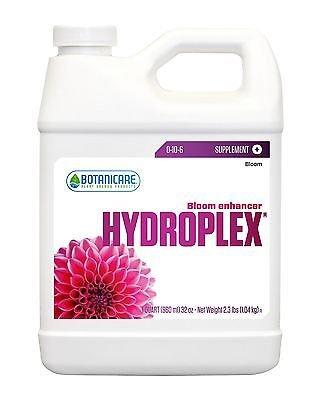 Botanicare HYDROPLEX Bloom Enhancer Plant Supplement 0-10-6 Formula, 1-Quart