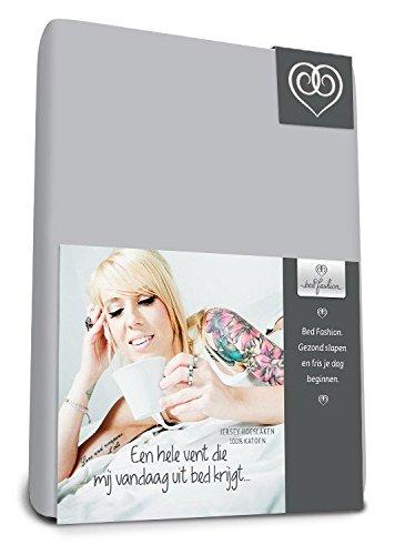 King Size Bed-Fashion Drap-Housse Bordeaux Jersey 180/x 210/cm