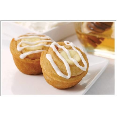 Two Bite Mini Cheese Danish, 0.85 Ounce -- 252 per case. by Give and Go Foods