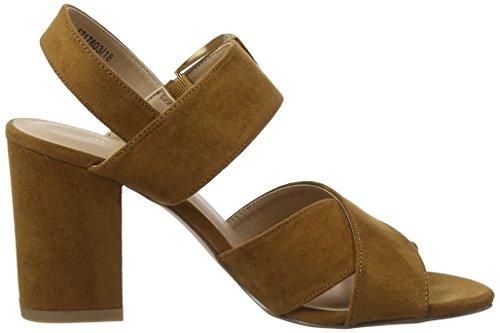 18 Look col Beige Donna Punta Aperta Tan Tacco Resco New Scarpe vZtxdqffw